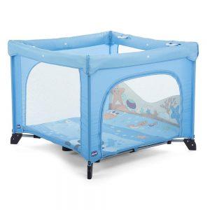 Box Open Lettino Bambino Pesciolini Blu Chicco - 00079841800000