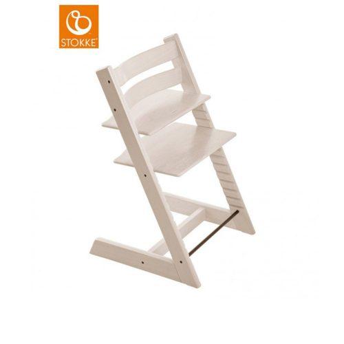 Sedia per bambini tripp trapp sbiancato stokke for Seggiolone stokke tripp trapp usato