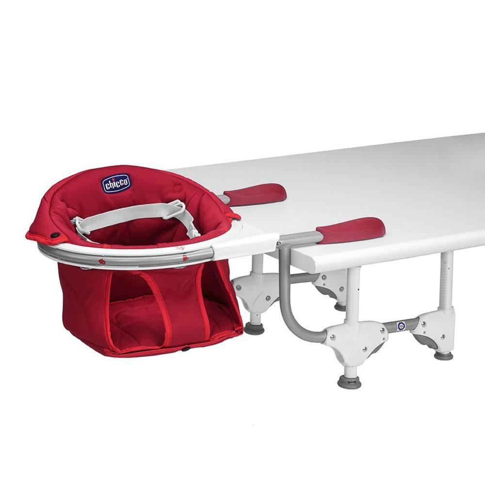 Seggiolone tavolo 360 gradi rosso chicco for Chicco seggiolino tavolo