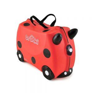 Valigia Cavalcabile Harley Ladybug Rosso Trunki - TR0092GB