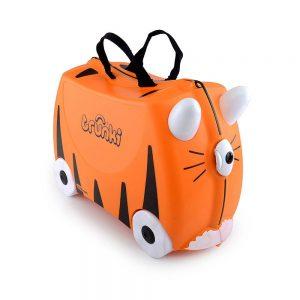 Valigia Cavalcabile Tipu Tigre Arancione Trunki - TR0085GB