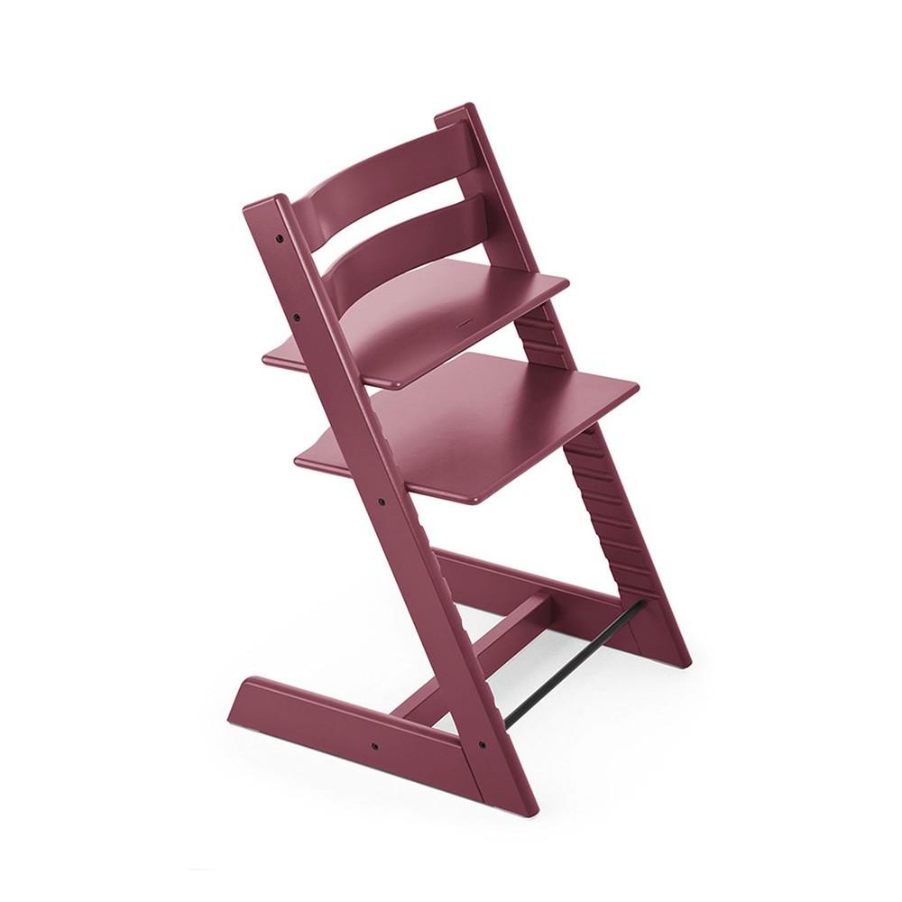 sedia per bambini tripp trapp rosa stokke