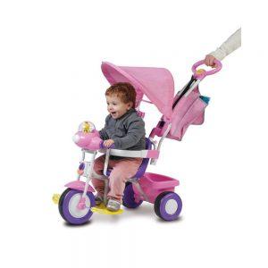 Triciclo Baby Plus Rosa Biemme - 001497RS