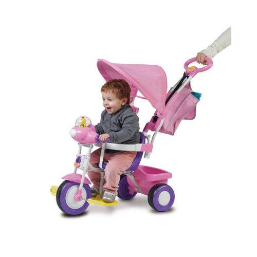 Triciclo Baby Plus Rosa Biemme – 001497RS