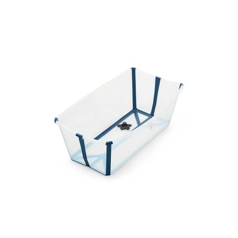 Vaschetta Pieghevole per il Bagno Trasparente Blu Stokke - 328809