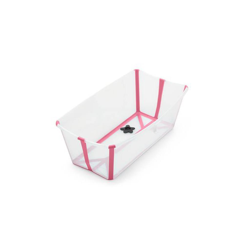 Vaschetta Pieghevole per il Bagno Trasparente Rosa Stokke - 328808
