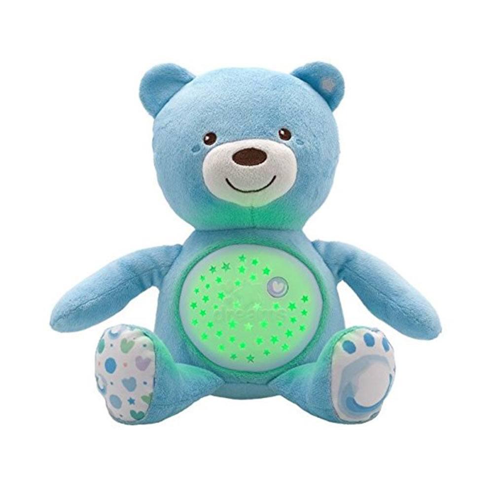 Pupazzo Orsacchiotto Baby Bear Azzurro Chicco - 8015200000