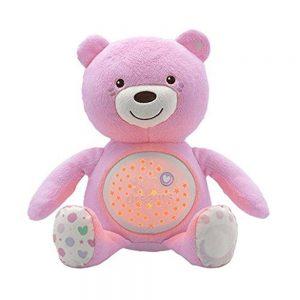 Pupazzo Orsacchiotto Baby Rosa Azzurro Chicco - 8015100000