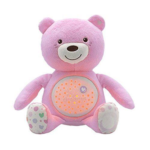 Pupazzo Orsacchiotto Baby Rosa Azzurro Chicco – 8015100000