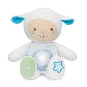 Pupazzo Pecorella First Dreams Azzurro Chicco - 9090200000