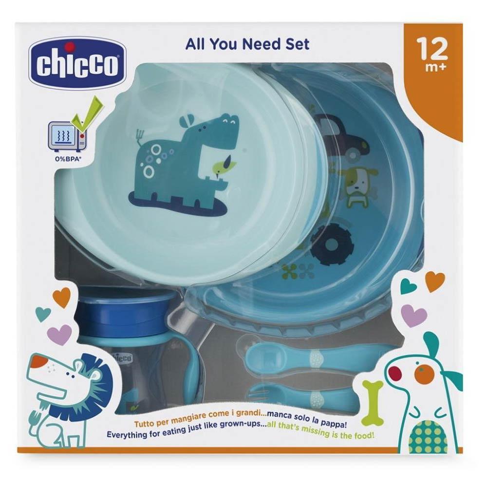 Set Pappa 12 mesi + Azzurro Chicco - 16201200000