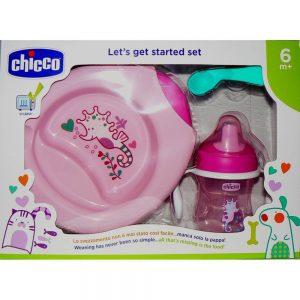 Set Pappa 6 mesi + Rosa Chicco - 16200100000