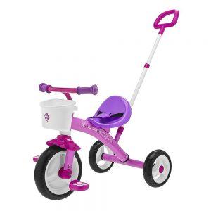 Triciclo Bambina con Manico U-Go Rosa Chicco - 7412100000