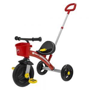 Triciclo Bambino con Manico U-Go Ducati Chicco - 7412070000