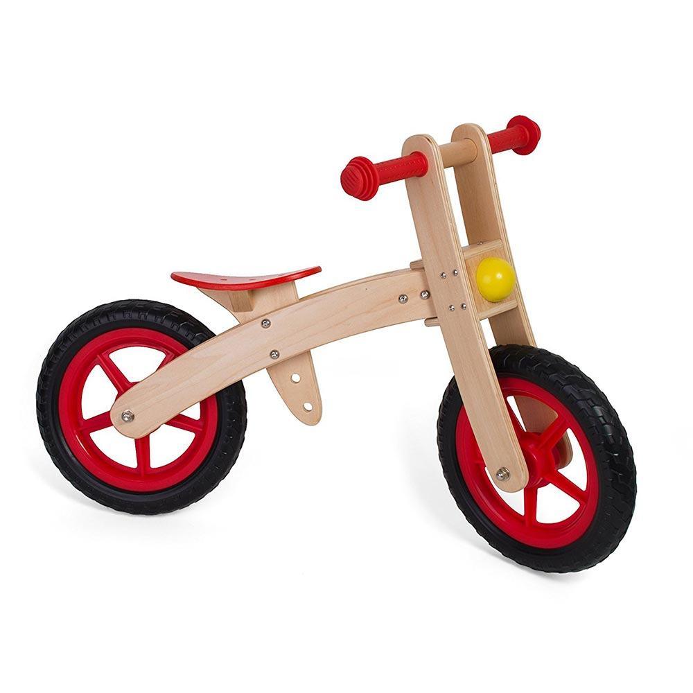 La Mia Prima Bicicletta in Legno con Ruota Libera senza Pedali Legnoland Globo - 35483