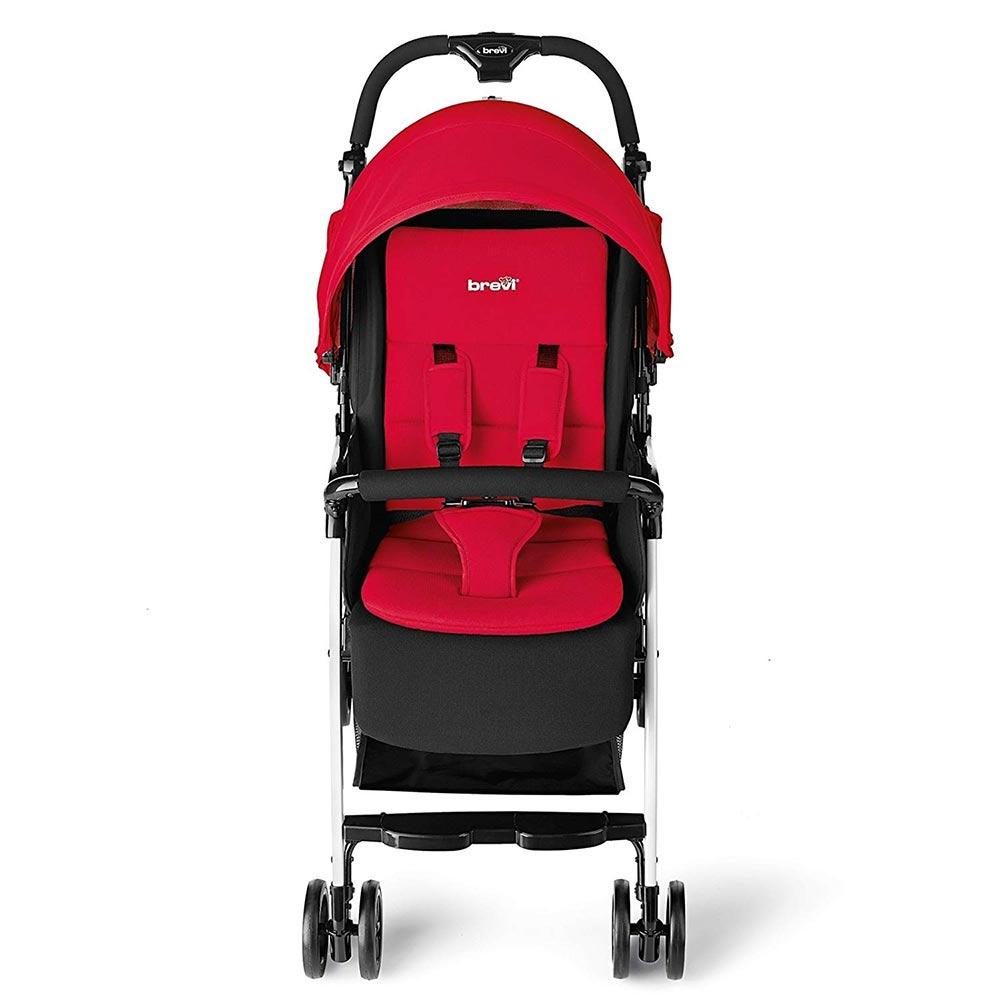 Passeggino Mini Large Rosso Geranio Brevi - 709 233