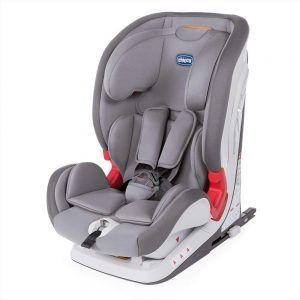 Seggiolino Auto Bambini Youniverse Fix 123 Grigio Chicco - 00079207840000