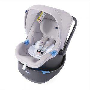 Seggiolino Auto Oasys 0+ Up Bebè Care Titanium Special Edition Chicco - 07079132840000