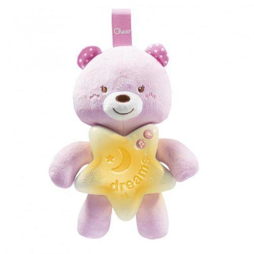 Baby Monitor e Peluche Luminoso Goodnight Friends Rosa Chicco – 00009380100000