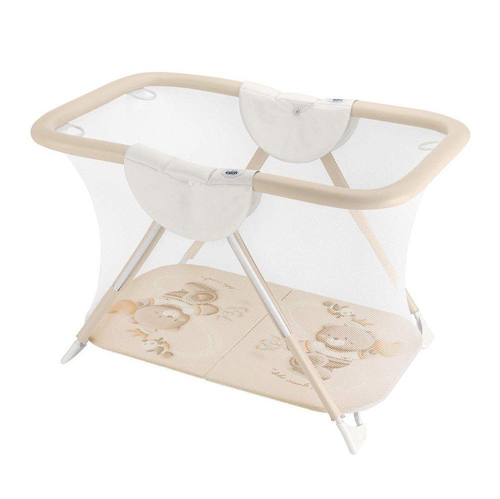 Box Medio per Bambini Orso Cuore Beige Cam - B120C240