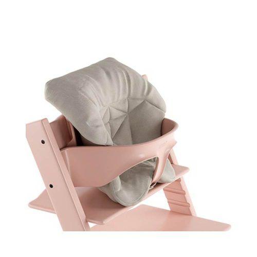 Mini Cuscino per Sedia Tripp Trapp Timeless Grigio Stokke – 496004