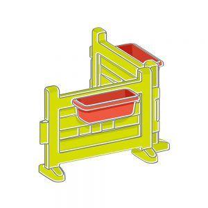 Modulo Steccato con Fioriere per Casetta Smoby - 810904