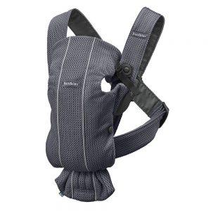 Marsupio Porta Bambino Baby Carrier Mini 3D Mesh Antracite Babybjorn - 021013