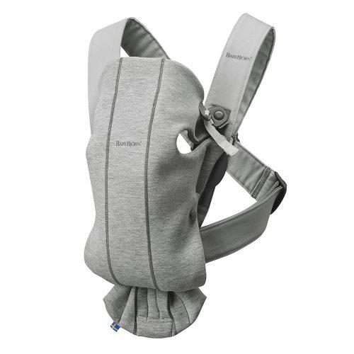 Marsupio Porta Bambino Baby Carrier Mini 3D Mesh Light Grigio Babybjorn – 021072