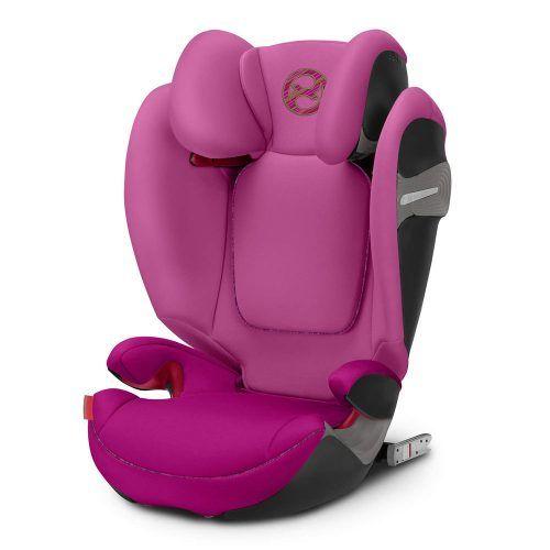 Seggiolino Auto per Bambini Solution S Fix Fancy Rosa Cybex – 519001064