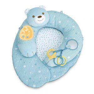 Cuscino 3 in 1 Nido di Coccole Azzurro Chicco - 00009829200000