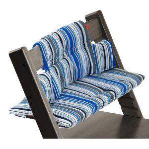 Cuscino per Sedia Tripp Trapp Ocean Stripe Stokke - 100330