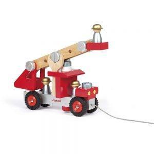 Camion dei Pompieri in Legno Janod - J06498