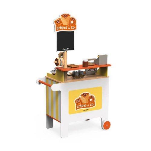 Chiosco Mobile Crepes & Co in Legno Janod – J06587