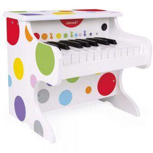 Il Mio Primo Pianoforte Elettronico in Legno Janod - J07618