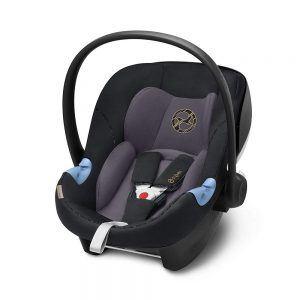 Seggiolino Auto per Bambini Ovetto Aton M I-Size Premium Nero Cybex - 519000875
