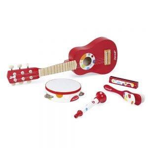 Set Musicale Confetti Music Live in Legno Janod - J07626