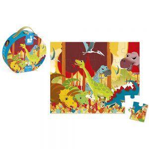 Valigetta Puzzle Dinosauri Janod - J02873