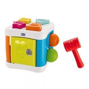 Cubo 2 in 1 Incastra e Martella Chicco - 00009686000000
