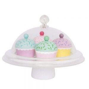 Cupola Cupcakes in Legno Jabadabado - W7113