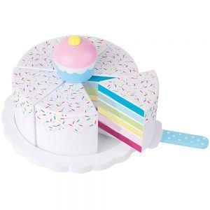 Torta Arcobaleno in Legno Jabadabado - T227