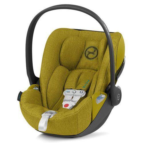 Seggiolino Auto per Bambini Cloud Z I-Size Plus con SensorSafe Mustard Yellow Cybex – 520000069