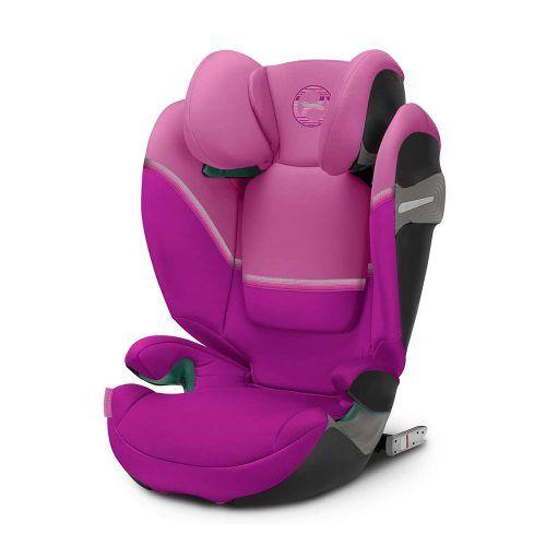 Seggiolino Auto per Bambini Solution S I-Fix Magnolia Pink Cybex – 520002416