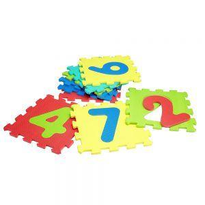 Tappetini con Numeri in Gomma 9 pezzi Vitamina G Globo - A17332