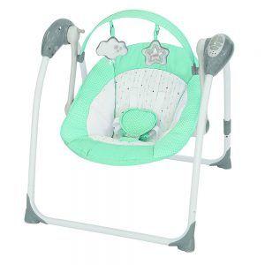 Altalena Portatile Brilly Tiffany verde Brevi - 542658