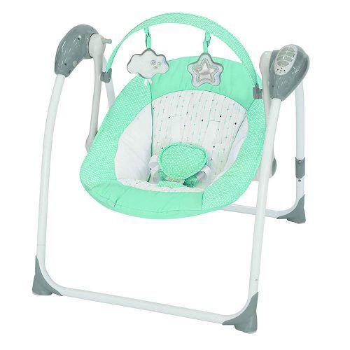 Altalena Portatile Brilly Tiffany verde Brevi – 542658