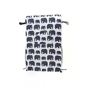 Coperta per Bambino Multiuso Elefante Bundle Bean Go - B8BBBWGEL
