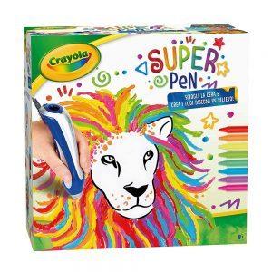 Super Pen sciogliere i Pastelli a Cera e Creare Disegni in Rilievo Crayola - 250384