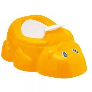 Vasino Paperotto con Contenitore Arancione Chicco - 66480400000