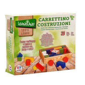 Carrettino Costruzioni in Legno Legnoland Globo - 1230
