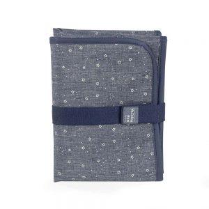 Fasciatoio Portatile Jeans Stelline Walking Mum - 36157